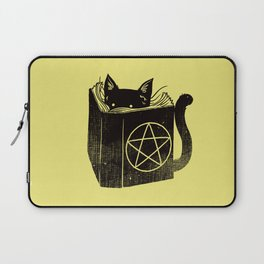 Witchcraft Cat Laptop Sleeve