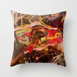 You Kill Me (This Time) - Girl Laying on Car Throw Pillow