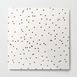 Dashing Dots Pattern Metal Print