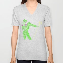 Riddle me this Unisex V-Neck