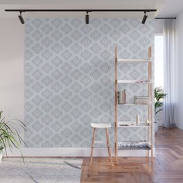 Heart Petals Pattern Wall Mural