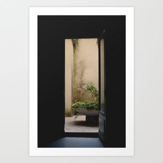 Jardinet Art Print