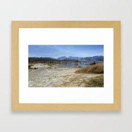 Mono Lake Tufa, No. 4 Framed Art Print