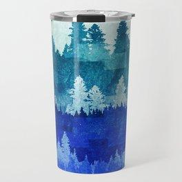 The Blue Forest Moon Travel Mug