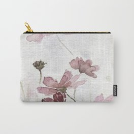 FLOWERS PAINTING-VINTAGE Carry-All Pouch
