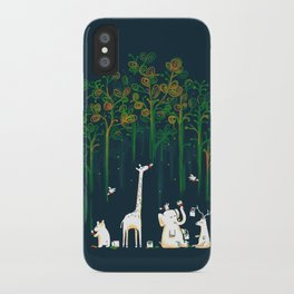 Re-paint the Forest iPhone Case