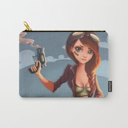 The Allure of the Uncanny Carry-All Pouch