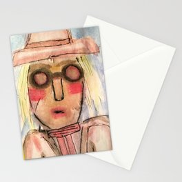 She lived in History. Stationery Cards