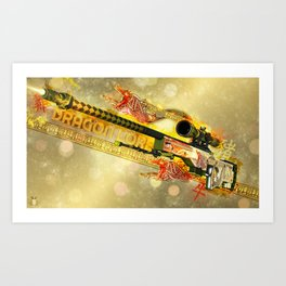 Sniper Rifle 4 Art Print