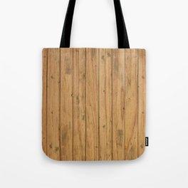 Rustic Wood Panel Pattern Tote Bag