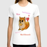 valentines T-shirts featuring Valentines Doge by Keri Lynne