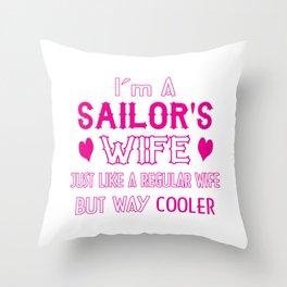 Sailor's Wife Throw Pillow