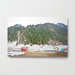 Xinjiang, China Metal Print