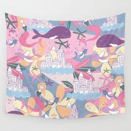 Sea world Wall Tapestry