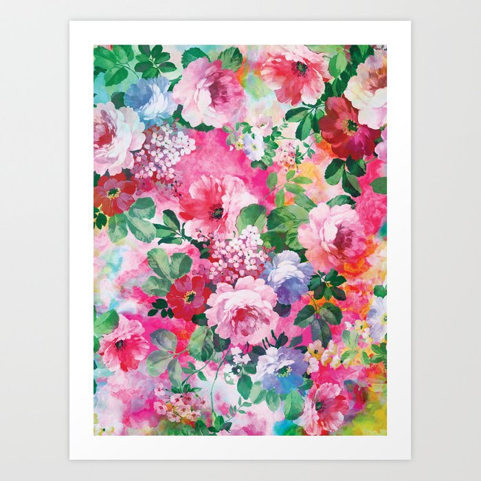 Beautiful Garden Art Print