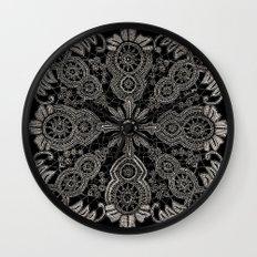 Victorian Monochrome Wall Clock