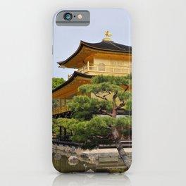 Temple of the Golden Pavillion iPhone Case