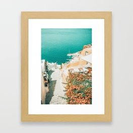 This Way To The Ocean #photography #nature Framed Art Print