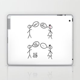 San Valentine's Day for Him Laptop & iPad Skin