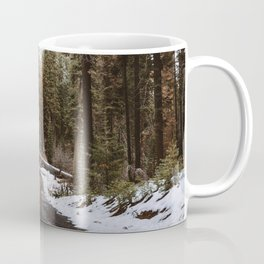Tunnel Log Road in Sequoia Coffee Mug