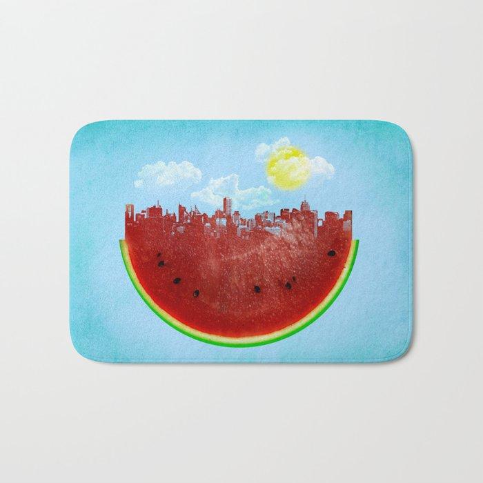Watermelon City Bath Mat