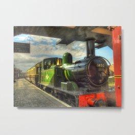 Steam Train 1450 Metal Print