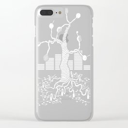 Music Tree Clear iPhone Case