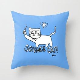 More cat-alyst! Throw Pillow