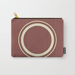 Circles | Red Wine Carry-All Pouch