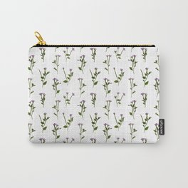 PRESSED FLOWERS - Chickweed Willowherb Carry-All Pouch