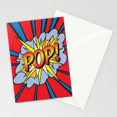 POP Art Exclamation Stationery Cards