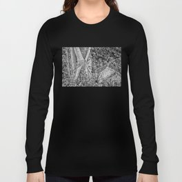 Strangler fig and boulder in the rain forest Long Sleeve T-shirt
