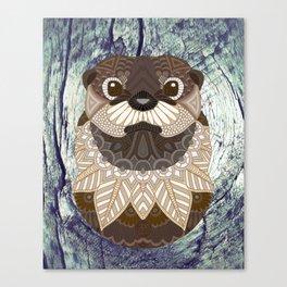 Ornate Otter Canvas Print