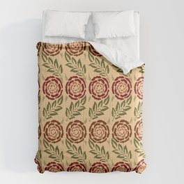 roses craft pattern Comforters