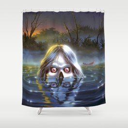 The Curse of Camp Cold Lake Shower Curtain