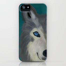Color Pop Wolf iPhone Case