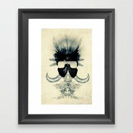 A black angel from Aksoum Framed Art Print