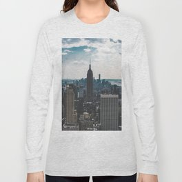 NEW YORK - CITY MANHATTAN - EMPIRE STATE BUILDING - PHOTOGRAPHY Long Sleeve T-shirt