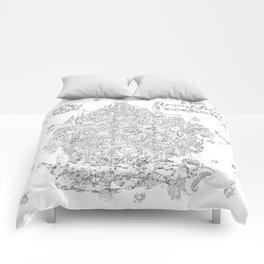 Breakfast Treehouse Comforters