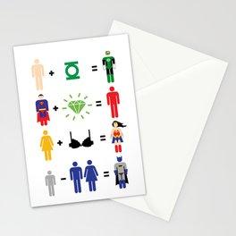 JLA Math Stationery Cards