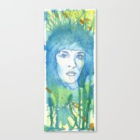 stevie nicks Canvas Prints featuring Stevie Nicks by Jonathan Lewis