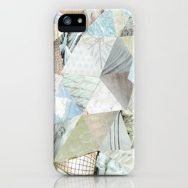 Collage - Like White on Rice iPhone Case