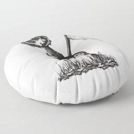 Little Grim Floor Pillow
