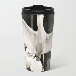 White bird dance 2 Travel Mug