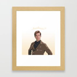 John Mulaney (SNL - Jealous?) Framed Art Print
