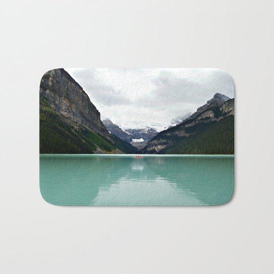 Lake Louise #mountains Bath Mat