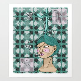 Ducha Art Print