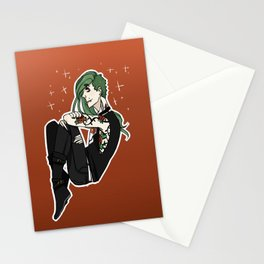 flower boy got THORNS Stationery Cards