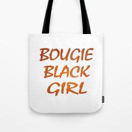 Bougie Black Girl Tote Bag