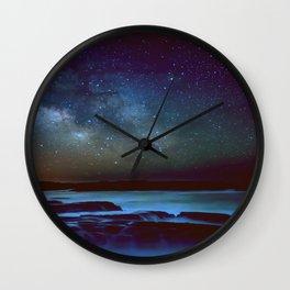 California Coastal Waters Wall Clock